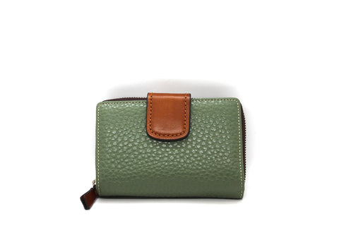 The Trend - Wallet 2888105 Green/Tan