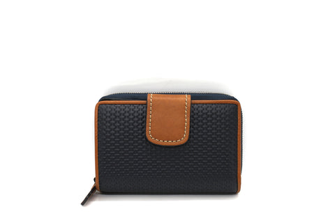 The Trend - Wallet 5718105 Navy/Tan