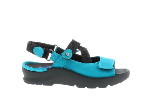 Wolky - Lisse Nubuck Turquoise