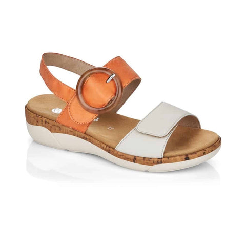 Remonte R6853-38 Off White/Orange