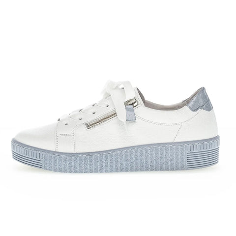 Gabor - 63334-26 Sneaker White/Light Blue