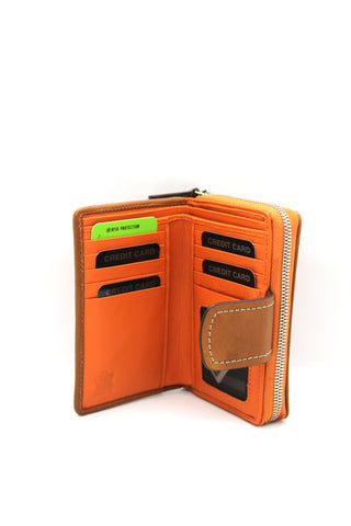The Trend - Wallet 5718105 Orange/Tan