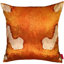 Load image into Gallery viewer, Gold shimmering luxurious cushion, guld kudde, gold cushion