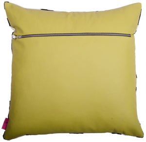 Cushion Black Cow