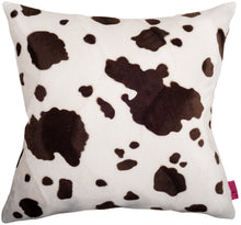 Load image into Gallery viewer, Cushion Brown Cow