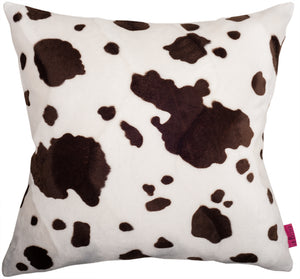 Cushion Brown Cow