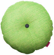 Green round cushion