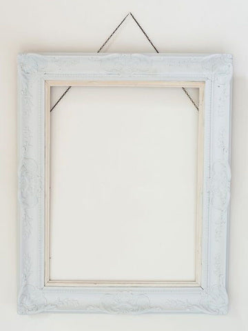 Beautiful Painted Vintage French Picture Frame - Decorative Antiques UK  - 1