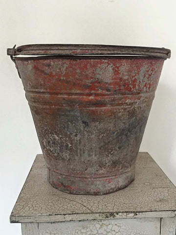 Collection of Vintage Galvanised Metal Buckets - Decorative Antiques UK  - 1