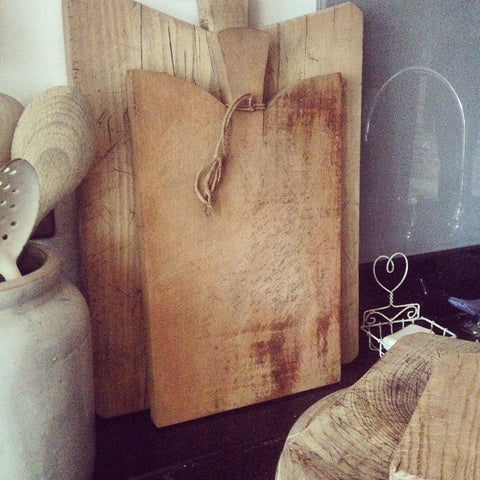 Vintage French Rustic Chopping Board - Decorative Antiques UK