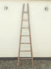 Antique French Fruit Picker Rustic Ladder in original paint - Decorative Antiques UK  - 1