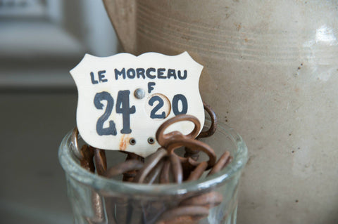 "Vintage French Price Spikes ""Le Morceau"" - Decorative Antiques UK  - 1"
