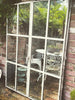 Pair Of Antique French Industrial Metal Mirrored Windows - Decorative Antiques UK  - 1