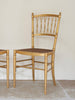 Pair of 19th Century French Gilt Wood and Cane chairs - Decorative Antiques UK  - 3