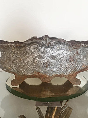 Antique 19th Century French Jardiniere/Planter in Silver - Decorative Antiques UK  - 1