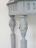 Vintage French Painted Console table - Decorative Antiques UK  - 2