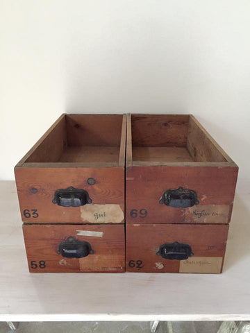 Antique Apothecary Drawers - Decorative Antiques UK  - 1