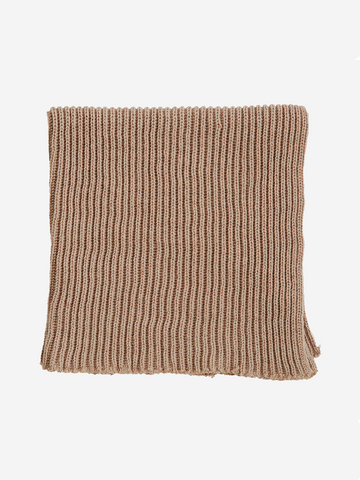 Cotton Dishcloth in taupe colourway