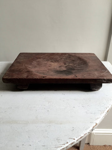 Antique French Rustic Oak herb Chopping Board - Decorative Antiques UK  - 1