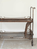 Rare Mid Century Cast Iron Drinks Trolley - Decorative Antiques UK  - 2