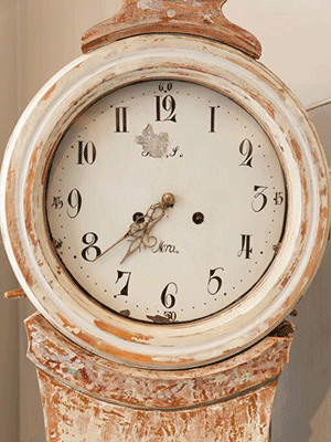 Stunning 19th Century Swedish Mora Clock - Decorative Antiques UK  - 1