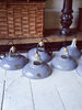 Rare 1930's Original Coolicon Grey Enamel Industrial Lights - Decorative Antiques UK  - 3