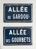 Vintage French Enamel Road Signs - Decorative Antiques UK  - 1