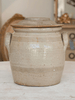 Vintage French Confit Pot with Original Lid - Decorative Antiques UK  - 1