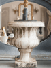 French 19th Century Marble Urn Table Lamps - Decorative Antiques UK  - 1
