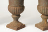 Collection Small Vintage French Cast Iron Urns