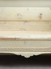 Antique Swedish Pine Bench with original paint