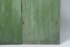Antique French Green wooden shutters