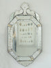 Antique Octagonal Venetian Mirror