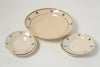 Antique Puglian Large Platter Bowl and Side Plates