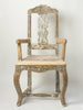 Antique 18th Century Swedish Baroque Chair