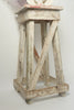 Antique Italian Rustic Sculptures Stand