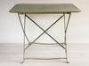 Vintage French Metal Folding Garden Table - Decorative Antiques UK  - 4