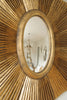 Amazing Large Gilt Sunburst Mirror
