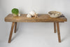 Antique Dutch Rustic Oak Console Table