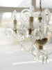 Beautiful Vintage 5 arm Venetian Chandelier