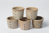 Collection Vintage French Stoneware Cheese Moulds