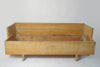 Antique Swedish Trundle Bench