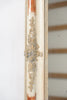 Antique 19th Century Paint and Gilt Overmantle Mirror