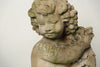 Amazing Pair Vintage French Cherub Statues with aged patina
