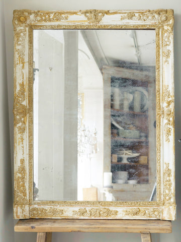 Antique French 19th Century Large Mirror
