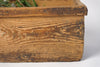 Antique Japanese Wooden Box with metal repair