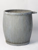 Vintage Galvanised Zinc Dolly Tubs in good condition