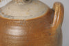 Antique French Stoneware Oil Pot with handles