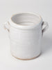 Antique White Italian Confit Pots
