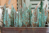 Handmade Copper Feathers with Verdigris Patina - Decorative Antiques UK  - 8